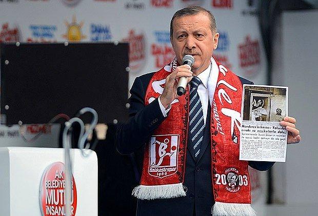 Erdoğan'dan ODTÜ Eylemcilerine: 'Bunlar Solcu, Ateist, Terörist...'