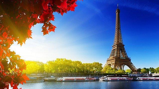 Aşkın Başkenti Paris!