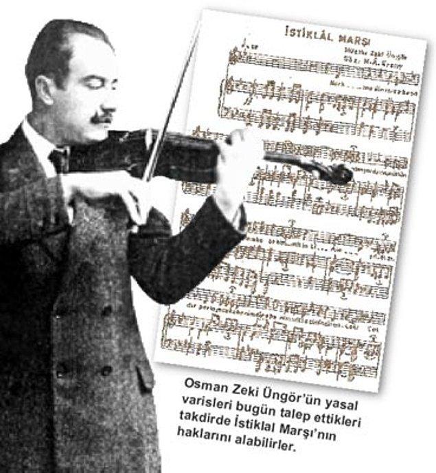 11. Osman Zeki Üngör'ün bestesi kaçıncı oldu?