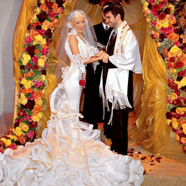 Christina Aguilera and Jordan Bratman-$2 milyon dollar