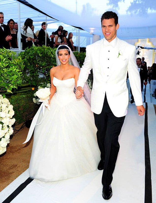 Kim Kardashian ve Kris Humphries-$10 milyon dolar