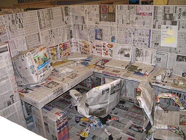 17. İş arkadaşınızın sabahki gazeteyi okuyup okumadığından emin olun