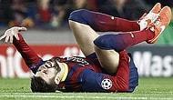 Barça'da Sakatlık Şoku