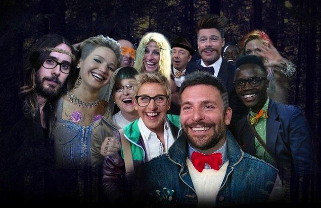 5. Ellen'ın Oscar Selfie'sindeki Herkes