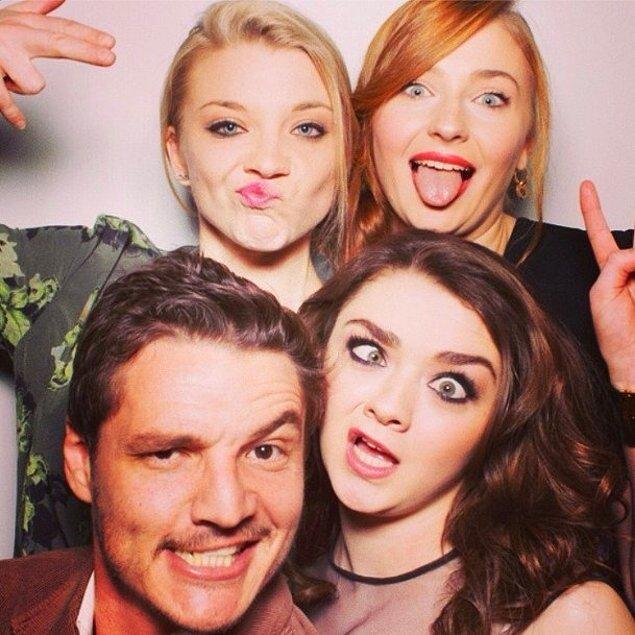 Sansa, Margaery, Arya, ve Oberyn