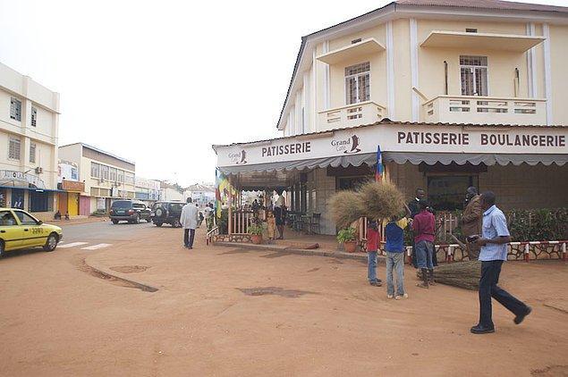8. Bangui, Orta Afrika Cumhuriyeti