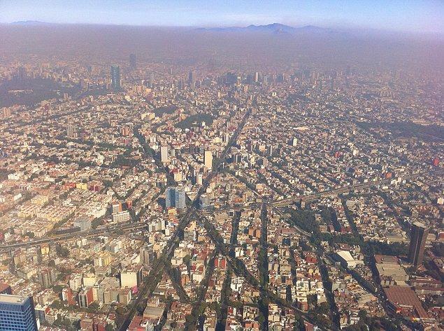 9. Mexico City, Meksika