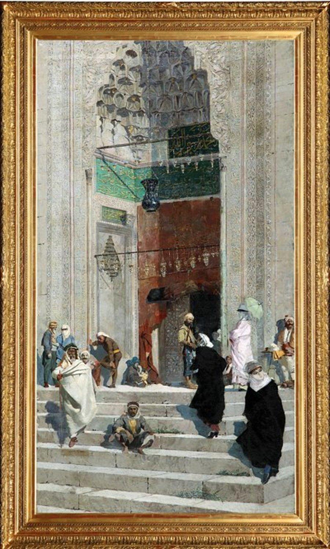 Osman Hamdi Bey In Sir Tablosu Rekor Fiyatla Satista Onedio Com