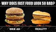 Reklamlardaki Aynı Görüntüde Hamburger İstemek