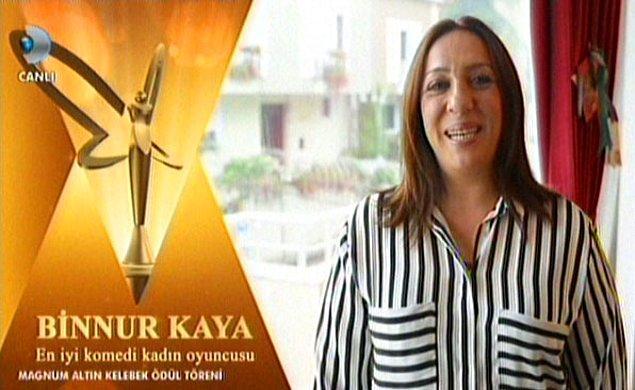 En iyi komedi kadın oyuncusu: Binnur Kaya