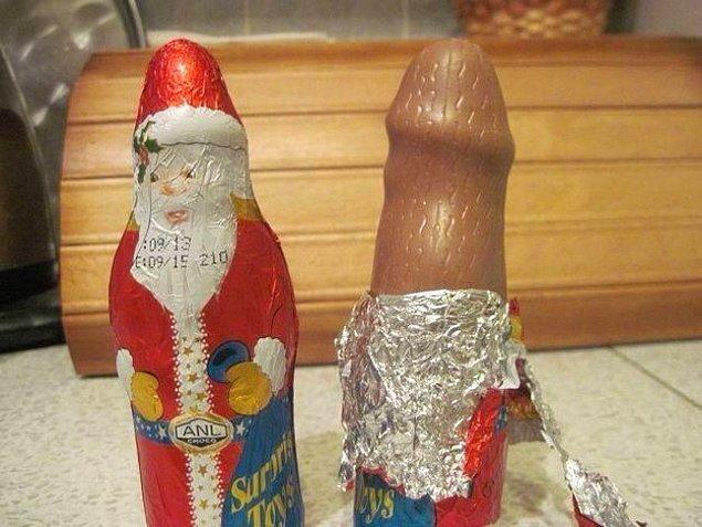 16. Çikolatanızda.