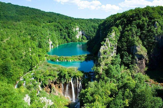 14. Plitvice Lakes, Hırvatistan