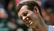 Son Şampiyon Andy Murray Wimbledon'a Veda Etti