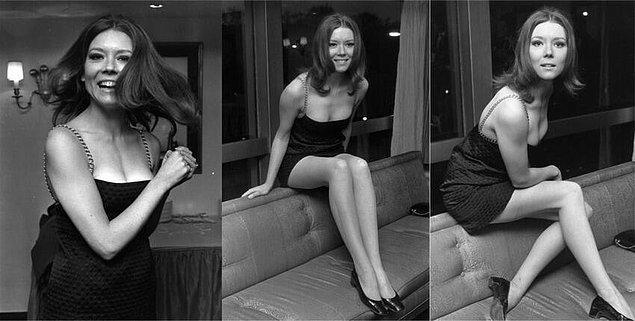 27. 1967 yılında Diana Rigg (Game of Thrones'daki Olenna Tyrell)