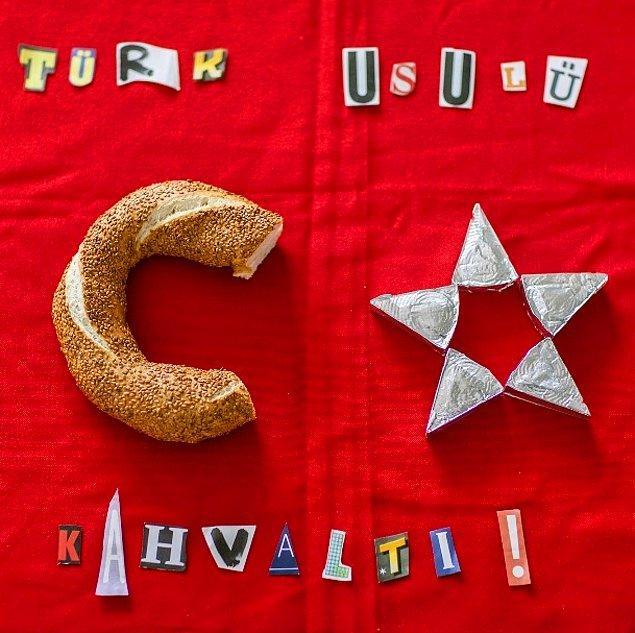 7. türk usulü kahvaltı..