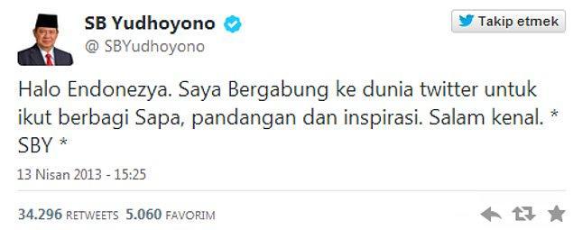 4. En hızlı yükselen devlet yöneticisi:   Endonezya Başkanı Susilo Bambang Yudhoyono