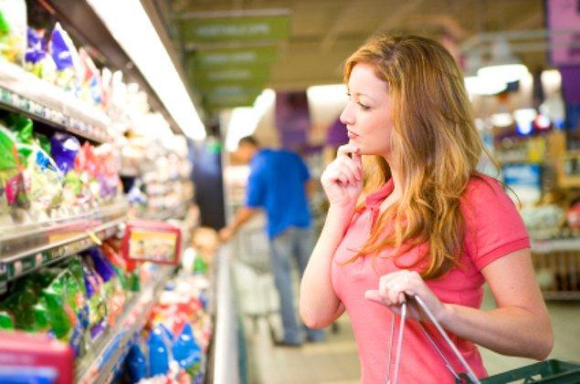 17. Süpermarketten alınacaklar listesi.
