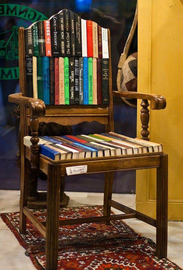 2. Özel tasarım sandalye