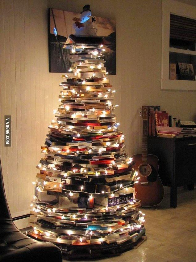 24. Bol bol okuyacağınız yeni yılı karşılayan yılbaşı ağacı