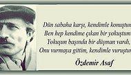 94. Doğum Gününde Özdemir Asaf'ın Taş Kalplileri Bile Duygulandıran 30 Şiiri