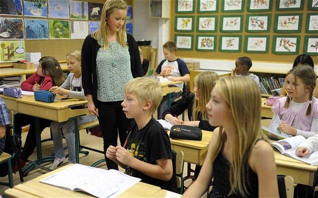 7. Finli öğretmenleri bu derece başarılı yapan şey kesinlikle çok akıllı olmaları değil.