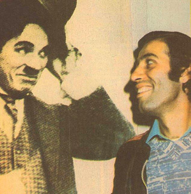 12. Kemal Sunal - Charlie Chaplin selamlaşması.