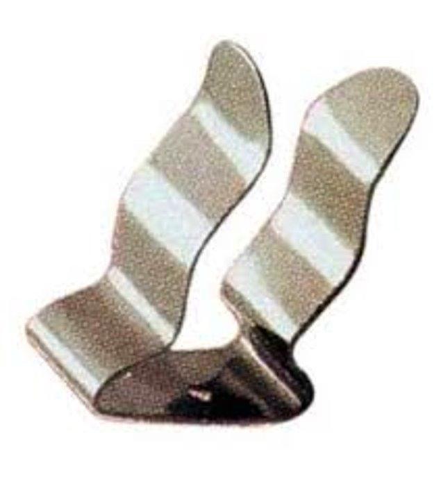 39. Yeni çorapların birbirinden ayrılmamasını sağlayan küçük klipslerden küpe yapmak.