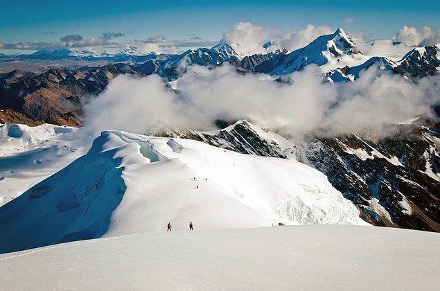 31. Cordillera Apolobamba, Bolivya