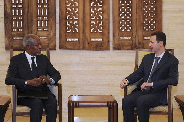 15. Eski BM Genel Sekreteri Kofi Annan