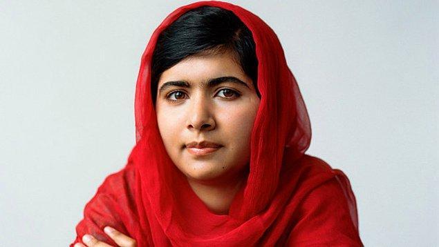 18. Malala Yousafzai, 17 yaşında - Nobel ödüllü aktivist