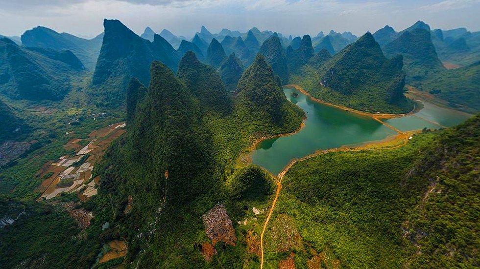 Guilin and Lijiang River National Park, Guangxi - China