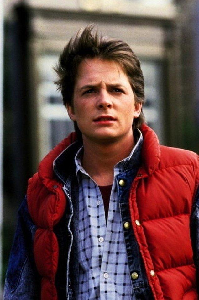 1. Marty McFly rolüyle Michael J. Fox