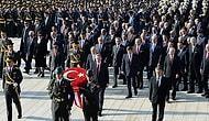 Cumhuriyet Bayramı İçin Anıtkabir'de Tören