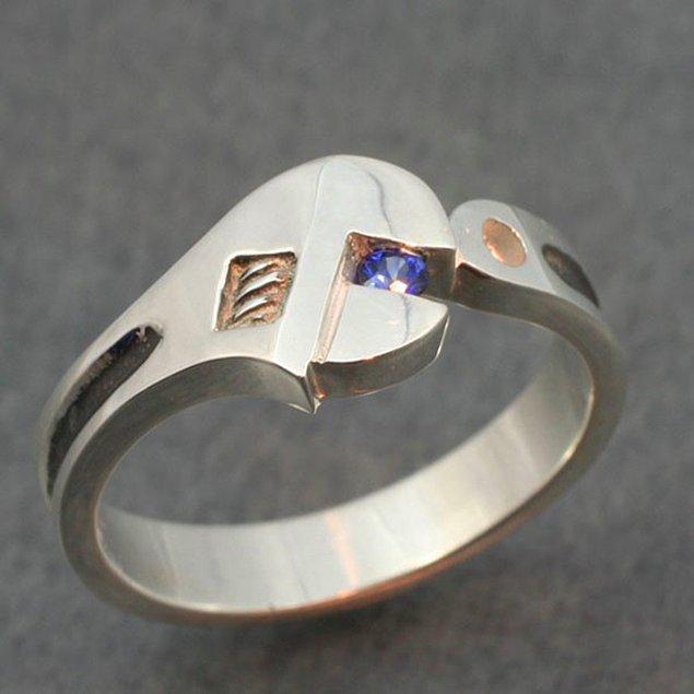 35. Bu da erkeklere özgü tesisatçı yüzüğü