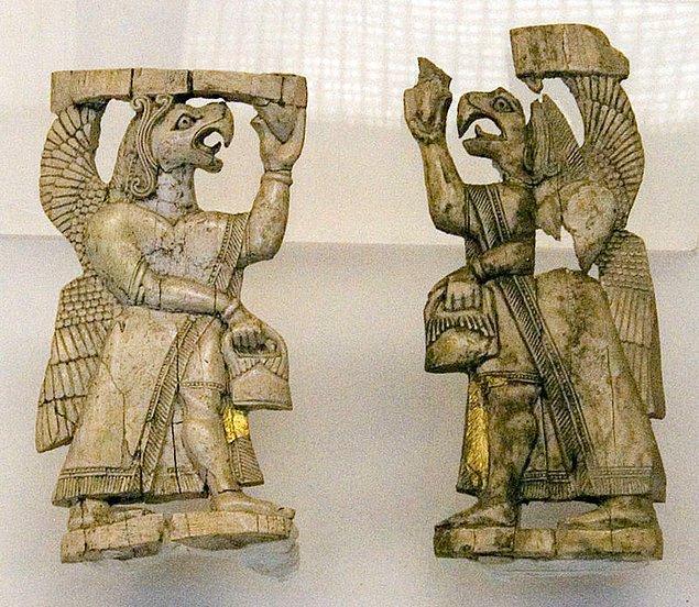 9. Altıntepe'de bulunan fildişi oymalar