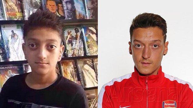 16. Mesut Özil