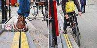 Еще один повод для переезда в Норвегию - эскалаторы для велосипедистов