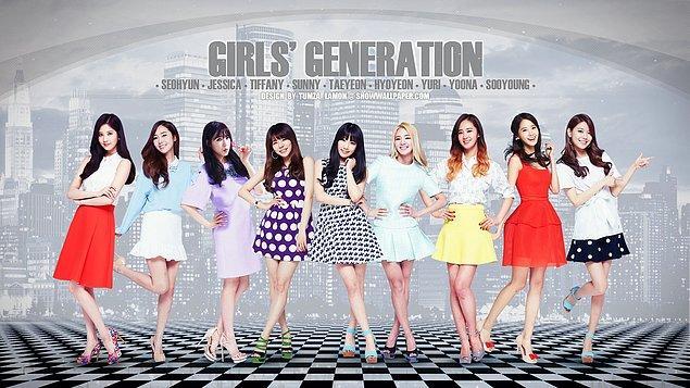 3- Girls' Generation