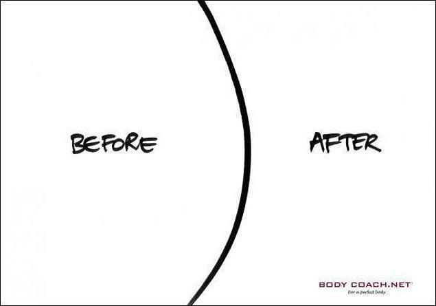 10. Spordan önce - sonra