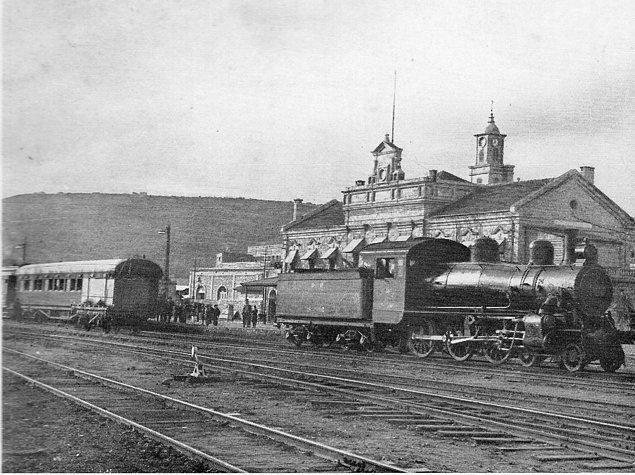 2-) Eyüp Sabri'nin Hatıraları: Hayfa'dan Hareket -7 Mart 1919 (Fotoğraf Hayfa - Kantara Treni )