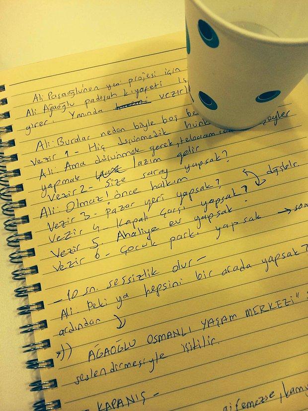 Sinan Çetin'in Reklam Fikirlerini Yazdığı Not Defteri Basına Sızdı: İşte En Önemli 10 Reklam Fikri