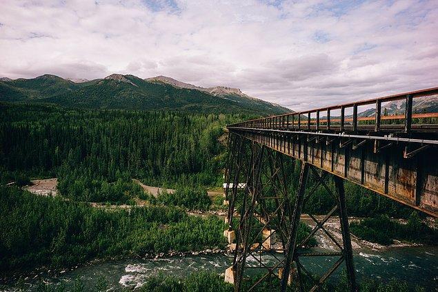 48. ''Bir kaç tren yolu fotoğrafı çekmek için beklemiş olabilirim. Eski tren yollarına bayılıyorum.''