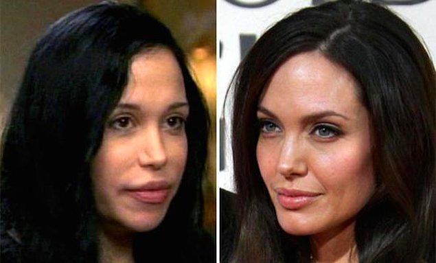 5. Nadya Suleman > Angelina Jolie