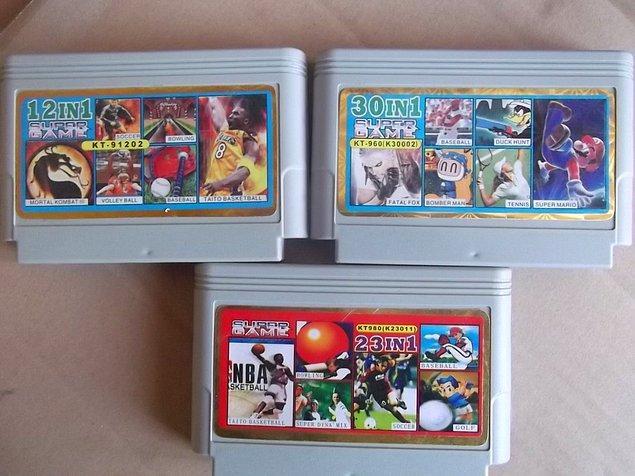 5. Bu kasetlerdeki oyunlardan sıkılınca kasetçilere gidilip başka kasetlerle değiştirilir.