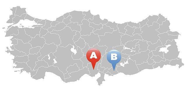 2. Hangi harf Gaziantep üzerinde duruyor ?