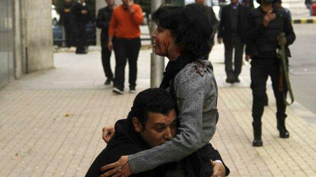 Kahire'de kadın eylemci öldürüldü
