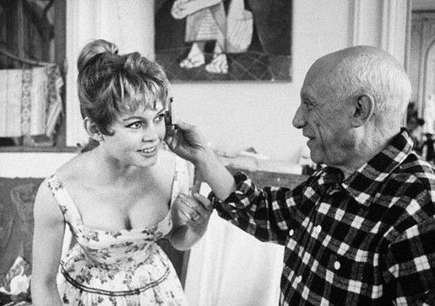 11. Brigitte Bardot ve Pablo Picasso