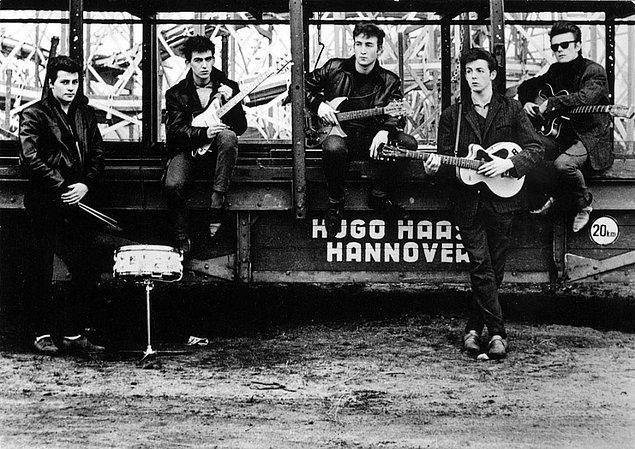 20. Ünlü olmadan önce Beatles.