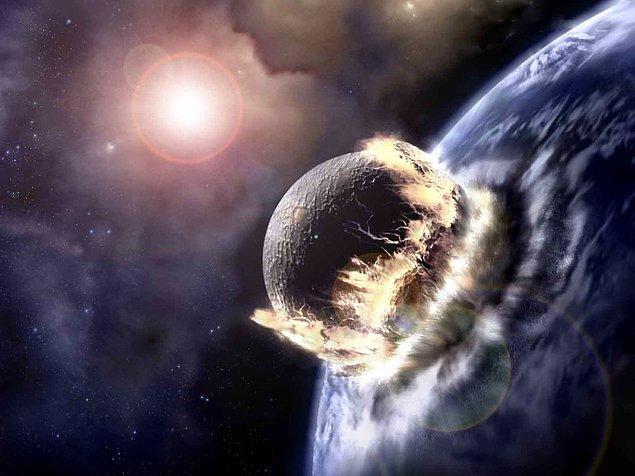 2. Dev bir meteor