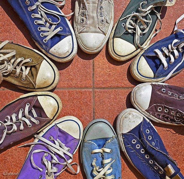 10. Derhal 5 converse'li arkadaş bir araya gelmeliyiz, derhal!